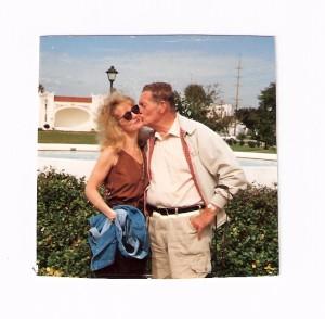 Dad & Jenny 1992