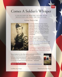 Comes A Soldier's Whisper JPG Journal AD